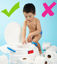 do's and dont's of potty training