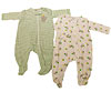 Carter's One-Piece Footed Infant Clothing With a Zipper photo