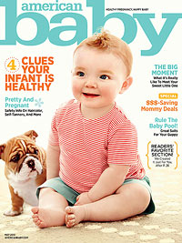American Baby May 2013 cover