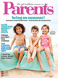 Parents June 2013 cover