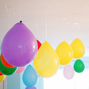 Backwards balloons
