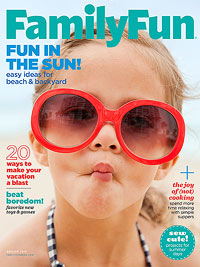 FamilyFun August 2013 cover