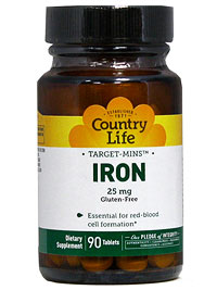 Country Life iron suppliment recall