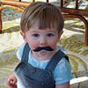 Why Kids Love Wearing Fake Mustaches