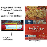 Kroger Cookie Dough recall