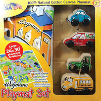 Wegmans Playmat Set Recall
