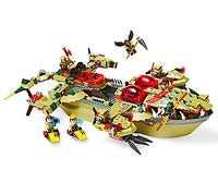 Lego Cragger's Command Ship