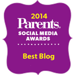 Parents.com Social Media Awards - Best Blog Winner