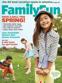 FamilyFun April 2014 cover