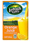 Lehigh Valley, Swiss Premium, and Price Chopper Brand Orange Juice photo