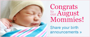 Congrats to our August Moms