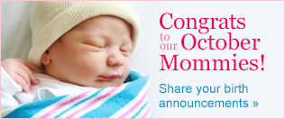 Congrats to our October Moms
