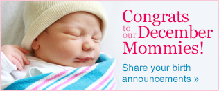 Congrats to our December Moms