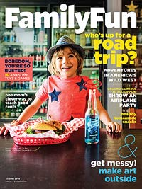 Family Fun August 2014 Cover