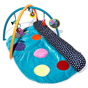 Babyplay 4-in-1 Tummy Time Play & Explore Activity Gym