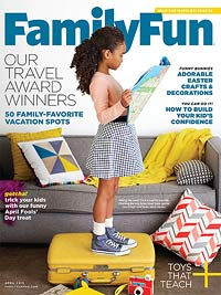 FamilyFun April 2015 Cover