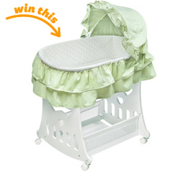 2-in-1 Portable Bassinet