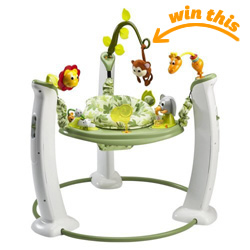 Evenflo ExerSaucer Jump & Learn Jumper