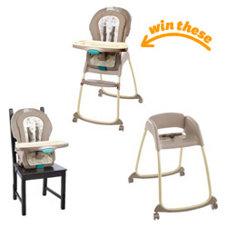 Ingenuity 3-in-1 Deluxe High Chair