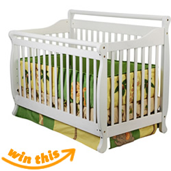 Dream On Me  4-in-1 Convertible Crib