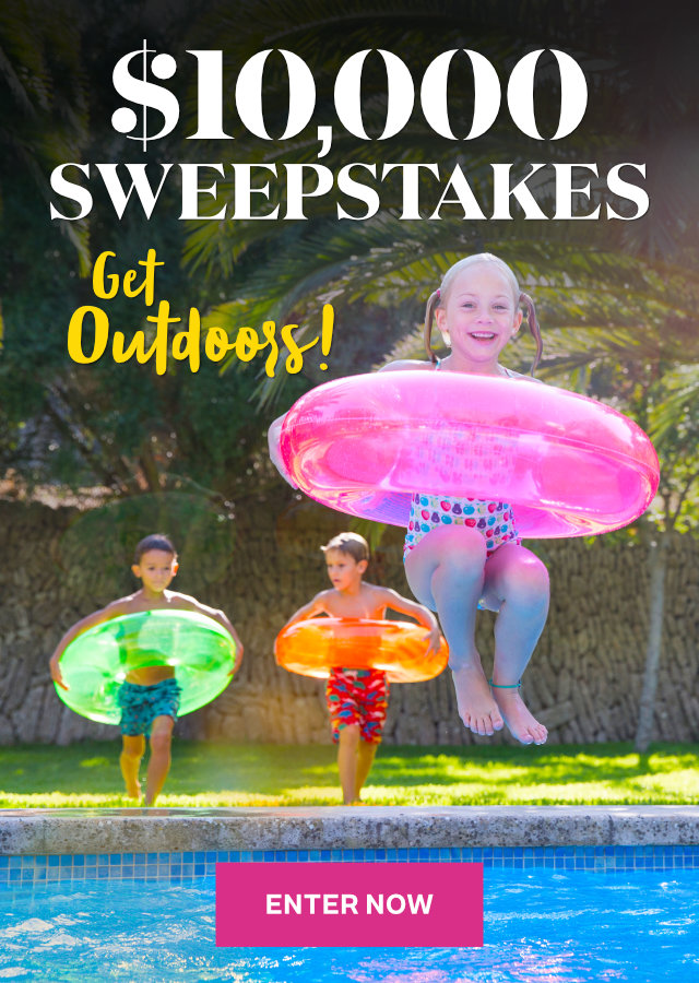 Get Outdoors! $10,000 Sweepstakes