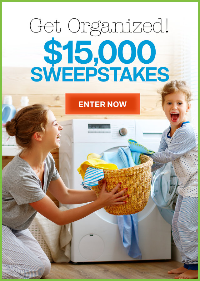 Get Organized $15,000 Sweepstakes