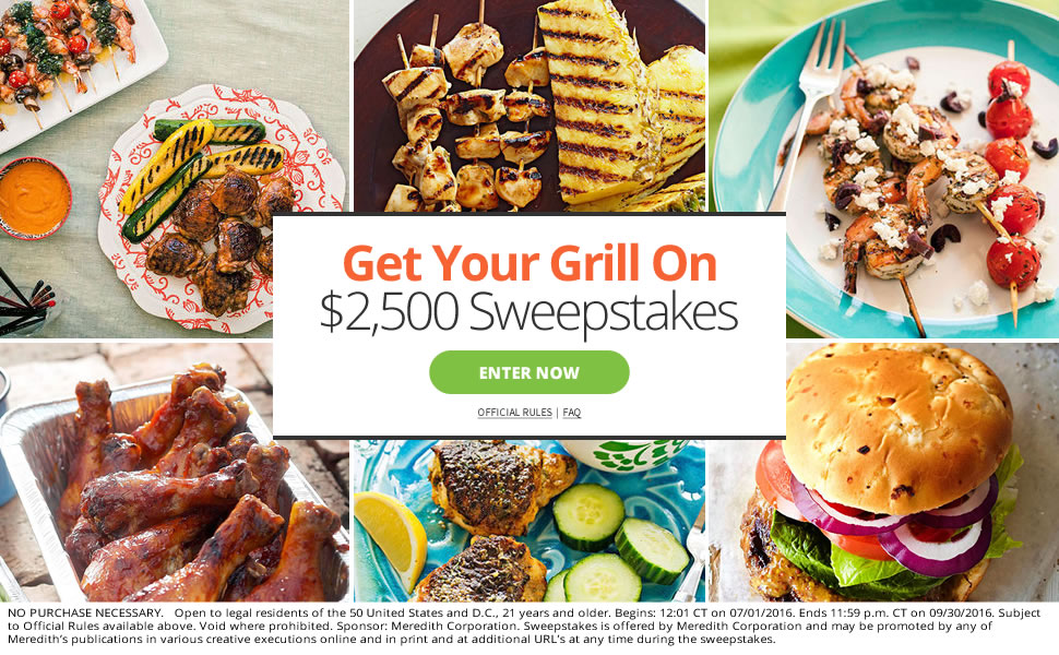 Get Your Grill On ~ Parents slash get your grill on sweepstakes