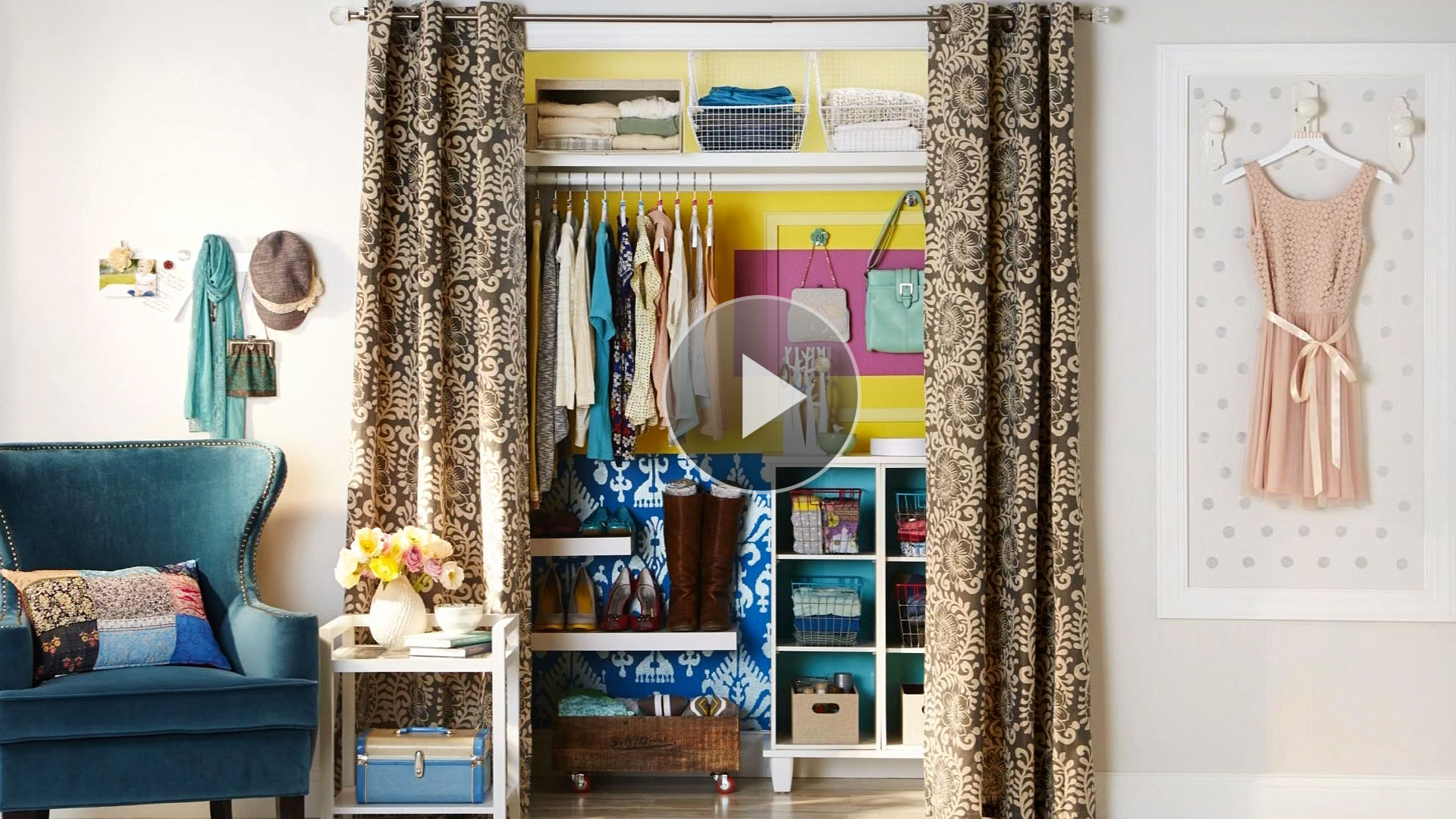 Is your clothes closet in need of an organization makeover