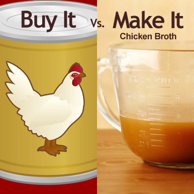 Chicken Broth: Buy It vs. Make It