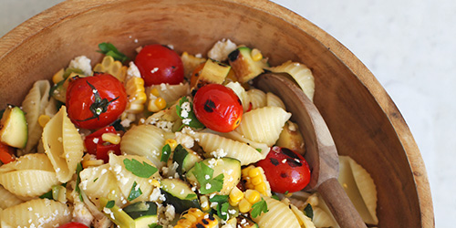 Mexican Corn Summer Pasta Salad
