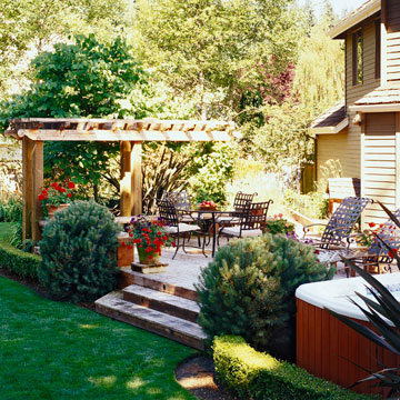 Provide Shade from Harsh Western or Southern Sun