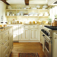 Open Shelving And Plate Racks Exude Cottage Style. Brackets Or Corbels That  Hold The Shelves Are Important For A True Cottage Look.