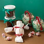 holiday food presents and containers