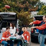 tailgate football party