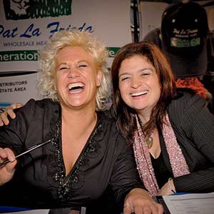 Anne Burrell and Alex Guarnaschelli