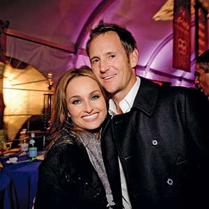 Giada De Laurentiis and her husband