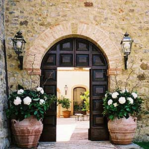 Wedding Site Entrance