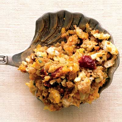 Serving Spoon with Stuffing