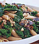 penne pasta and kale