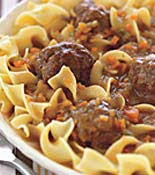 Meat Ball Pasta Dish