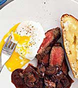 egg and steak recipe