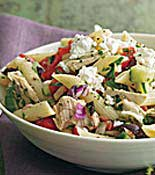 Mixed Veggie Pasta Salad
