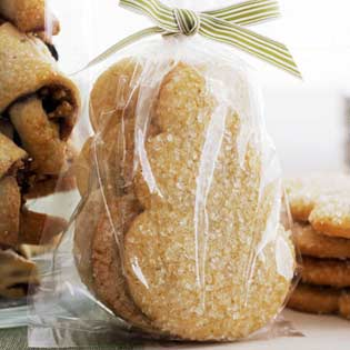 bag of sugar cookies