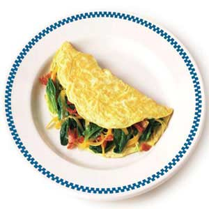 classic cheese omelet