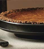 Granola Crusted Pumpkin Pie