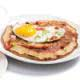 sausage and egg pancakes