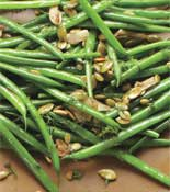 Sauteed Green Beans Toasted Pumpkin Seeds