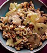 Buck Wheat Pasta Onion Mushroom