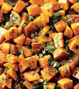 butternut squash with ginger