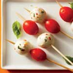caprese on a stick
